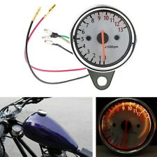12V Universal Motorcycle Mechanica 13000RPM Scooter Analog Tachometer Gauge CC