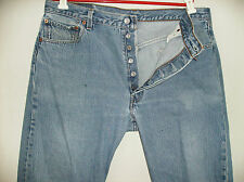 vintage mens Levi's 501  MADE IN THE USA 38X36  VINTAGE 501-0000 shrink to fit