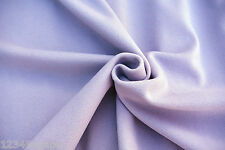 C169 LIGHT LILAC MADE IN ITALY LUXURIOUS 80% LAMBS WOOL & 20% CASHMERE MELTON