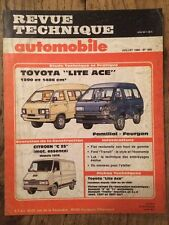 Revue Technique Automobile TOYOTA Lite Ace 1290 et 1486 cm3