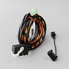 2PCS/SET Bluetooth Wiring Harness Cable 9W2/9W7 For VW Golf Jetta Passat RCD510