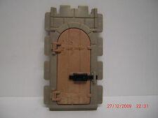 Playmobil Ritterburg - Mauerteil mit Tür und Riegel , alte Aufhängung