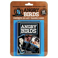 Angry Birds (Lady's) MEN ONLY 28 Trading Cards Game Novelty Man Cave Gift Idea