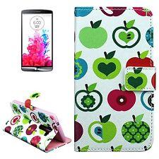 Custodia cover MELA PATTERN portafogli con supporto e card slot per LG G3 +