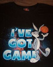 WB LOONEY TUNES BUGS BUNNY I'VE GOT GAME BASKETBALL SPACE JAM T-Shirt 4XL NEW