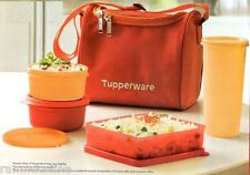 Tupperware Best Lunch - Food Box/Kit - Set of 4 + Free Insulated Bag + Brand New
