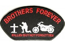 BROTHERS FOREVER MILITARY VETERAN EMBROIDERED  PATCH