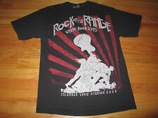 """2008 KID ROCK """"ROCK THE RANGE"""" (MED) T-Shirt STONE TEMPLE PILOTS STAIND"""