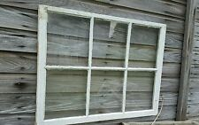 VINTAGE SASH ANTIQUE WOOD WINDOW PICTURE FRAME PINTEREST WEDDING VERY OLD 1930s