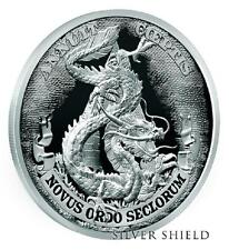 """2017 Silver Shield DOLLAR DRAGON Proof - #3 in """"Death of the Dollar"""" Series"""