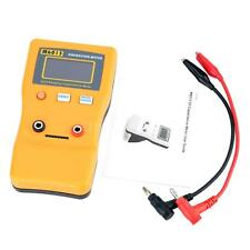 M6013 Capacitor Meter Capacitance Resistance Circuit Tester Test Clips AC0Y