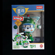 Robocar Poli Transformer HELLY HELI Transforming Robot Figure Toy set by Academy