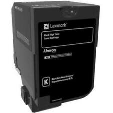 Lexmark 74C0H10 Cs720 Cs725 High Yield Black Toner Cartridge [20 000 Yield]