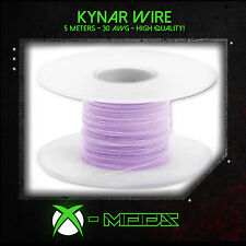 KYNAR WIRE - PURPLE - 5 Meters / 15 Feet - Xbox Wii PS3 360 Mod Modding Wrapping