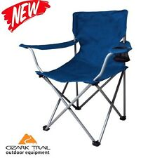 Folding Portable Chair Seat Stool Outdoor Ozark Trail Camping NEW Hiking Fishing