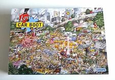 GIBSONS Mike Jupps I Love CAR BOOT SALES 1000 Pieces Jigsaw Puzzle