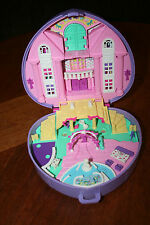 VINTAGE 1994 POLLY POCKET MUSICAL DREAM WEDDING PLAYSET BLUEBIRD MUSIC WORKS
