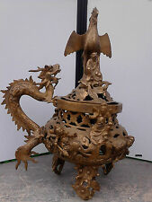 BRULE PARFUM INDOCHINE ANCIEN BRONZE ANTIC CHINE CHINA ASIA 中国  中國