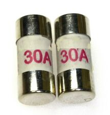 2 x 30A CONSUMER UNIT FUSES BS1361 FOR SOCKETS/COOKER/SHOWER