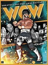 WCW Greatest Pay-Per-View Matches, Volume 1, Acceptable DVD, John Cena, Wwe