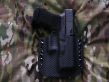 Black Carbon Fiber Kydex Glock 30s Holster