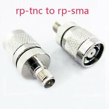 Female RP-SMA to Male RP-TNC Adapter Wireless Router Antenna Connector WIFI