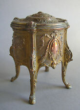 Schmuckschatulle Kommode Louis XVI Bronze trinket box Jugendstil