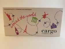 New In Box CARGO Cosmetics Around the World 12 Eye Shadow Palette w/ Brush
