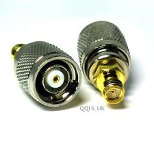 RP-TNC male jack center to SMA female jack RF coaxial adapter connector UK