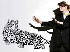 Unique Wild Animal leopard Wall Sticker Predator Removable Decal Home Decor