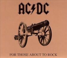 For Those About To Rock We Salute You [Remaster] by AC/DC (CD, Apr-2003, Epic (U