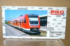 PIKO 52200 AC 3 RAIL DB CLASS VT 612 REGIOSWINGER RAILCAR DIGITAL MINT BOXED nc