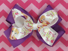 Anna Frozen Hair Bow for Girl's Dress Up Costume for Anna Elsa Hair Bows Girl