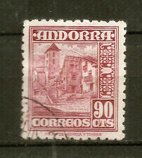 Andorra ( Spanish Post ) : 1948 90 Cèntims Used