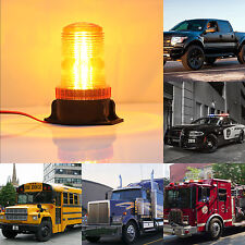 30LED Amber Car Bus Roof  Led Strobe Hazard Warning Beacon Emergency Flash Light