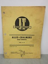 I&T Shop Service Allis-Chalmers Tractor Shop Manual 170 Series Manual #AC-24