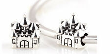 PD style big hole European slide castle Dress Charm new gift bracelet UK magical