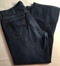 Men's Old Navy Straight Fit Jeans Size 40x32 40 Waist 32 Inseam Dark Wash (5B)
