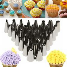 35Pcs Russian Tulip Cupcake Tool DIY Icing Piping Nozzles Tips Cake Decorating