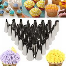 35Pcs Russian Tulip Cupcake Tool DIY Icing Piping Nozzles Tips Cake Decorating