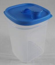 Tupperware Erfrischer Kanne Kühlschrankkanne Saftkanne 1 l Weiß / Blau Neu OVP