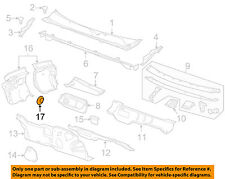 GM OEM Interior-Front Sill Plate Retainer Right 94530387