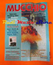 Rivista MUCCHIO SELVAGGIO 455/2001 Thalia Zedek Pascal Comelade Tool  No cd