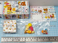 Miniatures San-X Rilakkuma Relax Totteoki Gift  Set No.8 , 1 pc only  - Re-ment