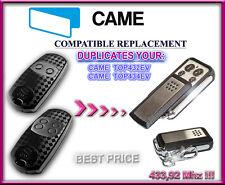 Came TOP432EV, TOP434EV compatibile radiocomando telecomando, Clone 433,92MHz