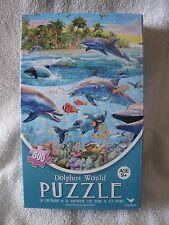 Dolphin World 500 Piece Puzzle