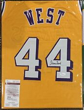 Jerry West Signed Custom Lakers Jersey (Authenticated)