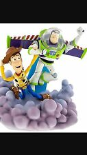 NEW Disney Parks BUZZ LIGHTYEAR & WOODY Toy Story MEDIUM Big Fig FIGURE Light Up