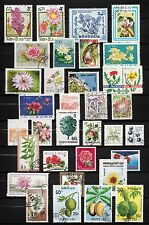 101372/ Blumen und Pflanzen - schönes Lot - o - nichts gerechnet - siehe scan