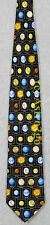 PLANETS W/ NAMES SOLAR SYSTEM SPACE ASTRONOMY Museum Artifacts Silk Necktie NEW!